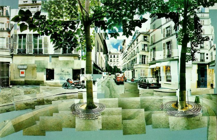 2-D Art: David Hockney and his Photographic 'Joiners'