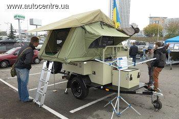 В Украине появились жилые прицепы-палатки +ВИДЕО