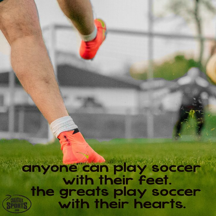 Always play with heart. #soccer