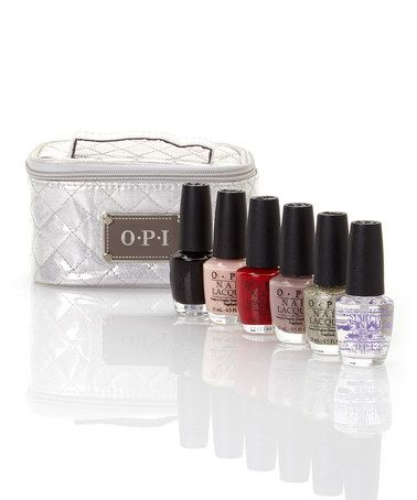 Look what I found on #zulily! Pack The Essentials OPI Nail Polish Set by OPI #zulilyfinds Best voted OPI Nail Polish Lacquer #nail #polish @opulentnails #OPI