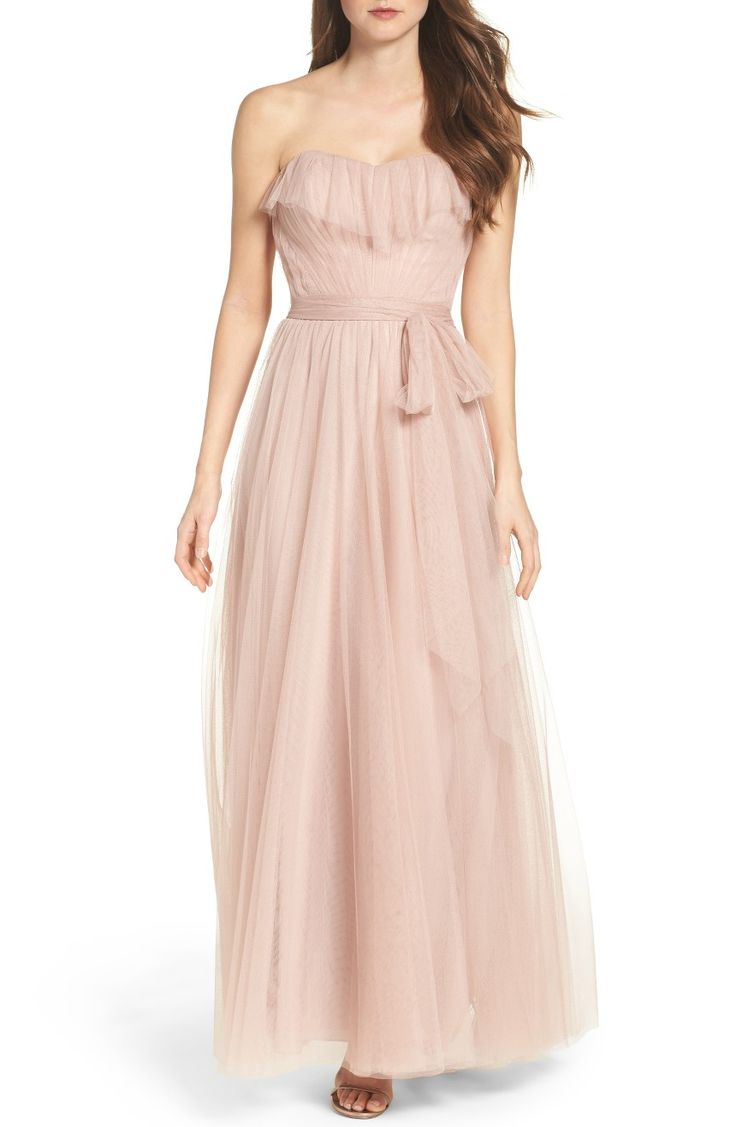 17 best images about bridesmaid dresses on pinterest bridesmaid angelie strapless tulle gown ombrellifo Images