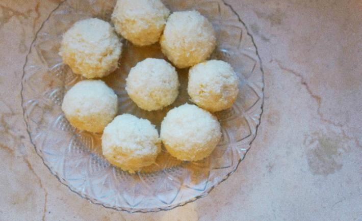 Абрикосово-кокосовые конфеты