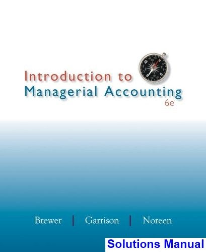 30 best solutions manual download images on pinterest introduction to managerial accounting 6th edition brewer solutions manual test bank solutions manual fandeluxe Images