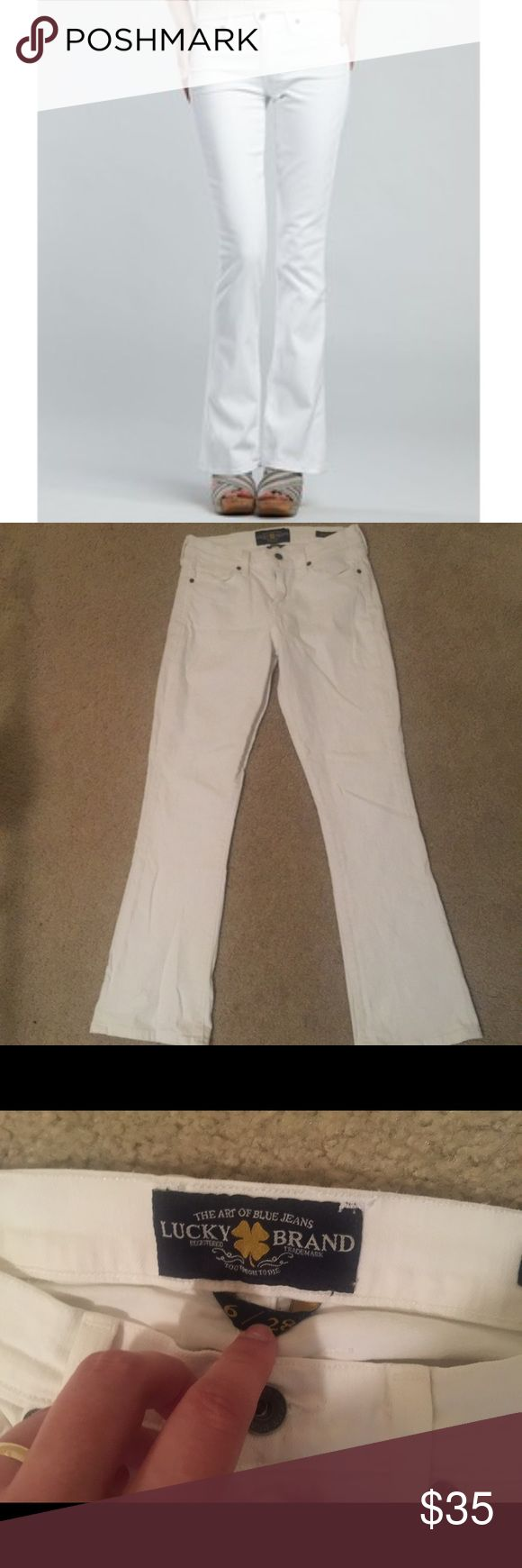 ✨ 1 DAY SALE ✨ Lucky Brand Sofia Bootcut jeans These are in perfect condition and still look pretty new. Great for spring! No rips or stains of any kind. Very comfy and figure flattering. Mid rise. I am happy to provide specific measurements if needed. Just let me know  Lucky Brand Jeans Boot Cut