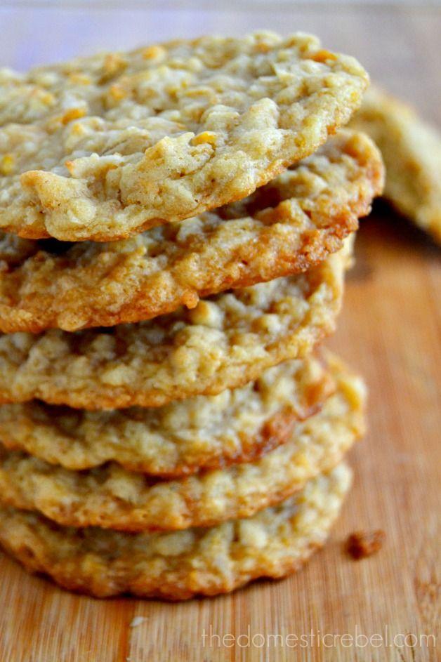 Coconut Ranger Cookies {And My Caribbean Vacay Recap!} | The Domestic Rebel