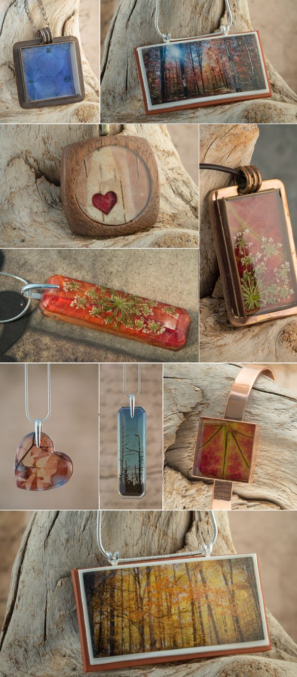 Resin Jewelry Sale---I LIKE THE WOOD WITH THE HEART. PERSONALIZE WITH INITIALS