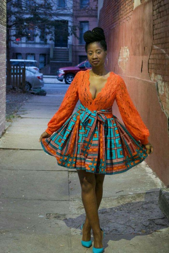 1001+ idées de pagne africain stylé et comment le porter | African print skirt, African fashion ...