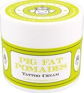 Pig Fat Pomades Skin and Hair Care Tattoo Cream Honour your newly acquired ink with this nourishing and soothing tattoo cream from Pig Fat Pomades. http://www.comparestoreprices.co.uk/january-2017-8/pig-fat-pomades-skin-and-hair-care-tattoo-cream.asp