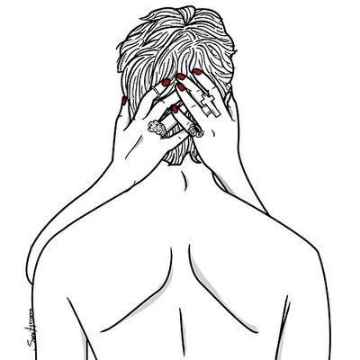 Natui » naturaleza creativa » Intimidad y mujeres en las ilustraciones de Sara Herranz