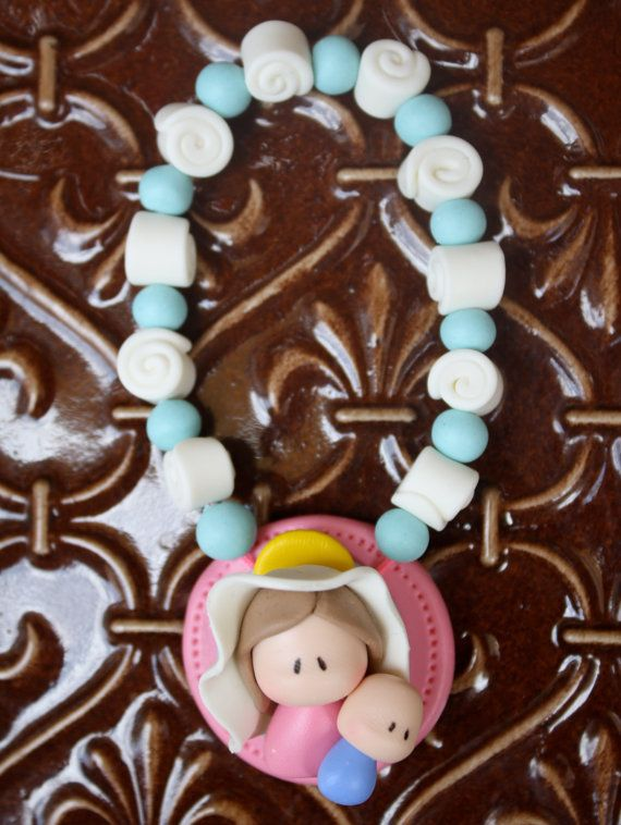 Childrens Rosary Baptism /First Communion/ Baby Shower by gavo