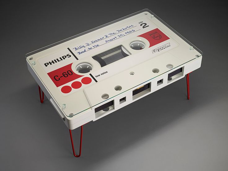 Awesome Cassette Tape Coffee Tables That You Can Buy Right Now