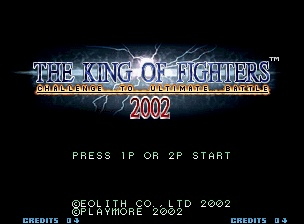 King of Fighters 2002 ROM Download for Neo Geo - CoolROM.com
