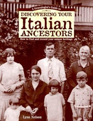 A Genealogists' Guide to Discovering Your Italian Ancestors: Part of the Discovering Your Ancestors Series, this starts by teaching the basics of sound genealogical research, then provides time-saving strategies for researching a particular ethnic group. There are tips on locating records both here and abroad, deciphering original documents, planning a research trip and putting an ancestor's records in historical context. #genealogy #Italian #Italy #Italians #familytree