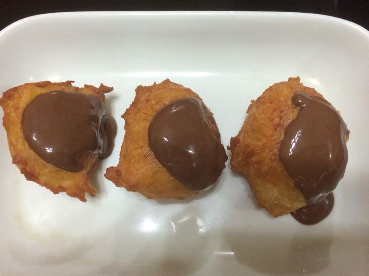 this is doughnut with nutella #failed_donutshape