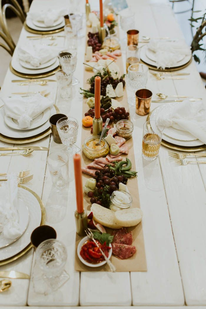 wedding reception dinner ideas on budget%0A Intimate Temecula Dinner Party Wedding at Gather