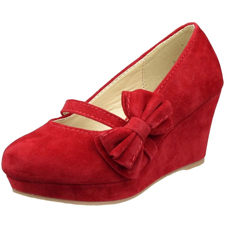 Cute shoes for a red dress