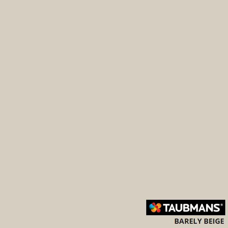 #Taubmanscolour #barelybeige