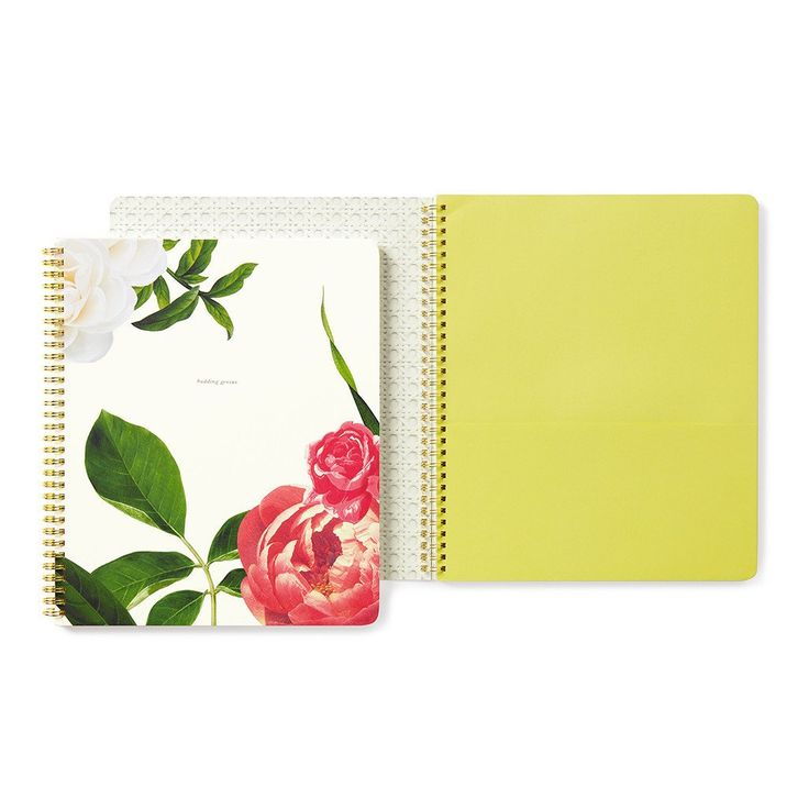 Kate Spade New York Large Floral Spiral Notebook Buy Online NZ