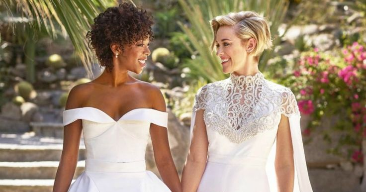Samira Wiley And Lauren Morelli Just Got Married & they both look stunning 👏🎉🌟 divamag.co.uk/Diva-Magazine/… #HopeWillNeverBeSilent And it was beautiful. #HopeWillNeverBeSilent