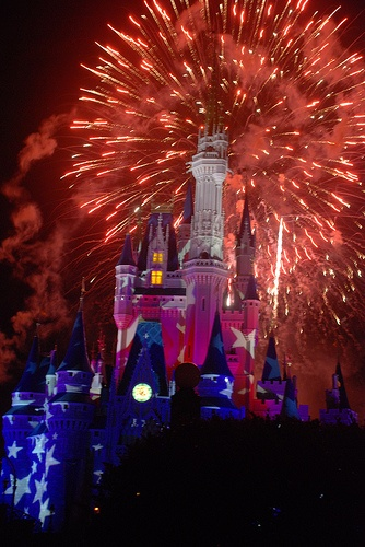 4th of July Fireworks at The Magic Kingdom