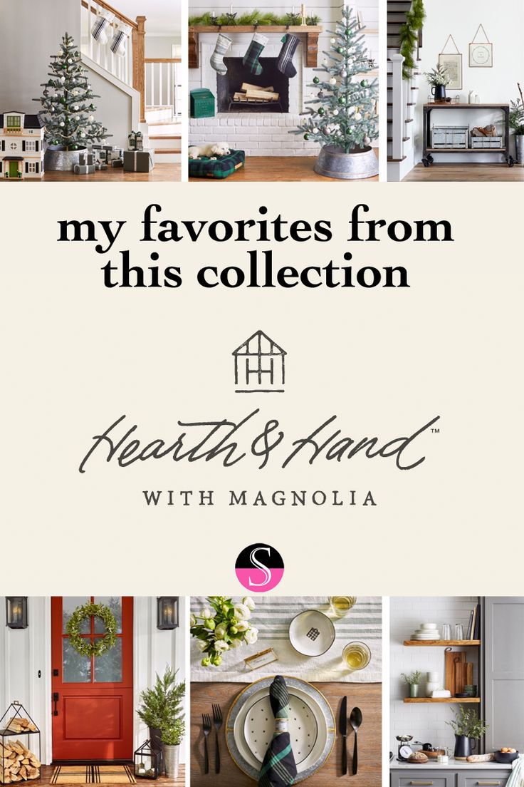 My favorites from Target's Hearth & Hand with Magnolia collection | holiday decor | home decor | target style | affordable decor | affordable interior design | home style | fixer upper | shelfie | living room | home inspo | kitchen inspo | open shelving