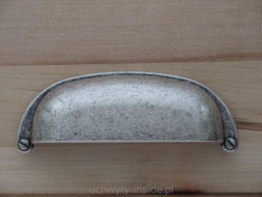 Uchwyt muszelka 5031/0A.E8 old silver - Uchwyty Meblowe i Akcesoria - Sklep Internetowy