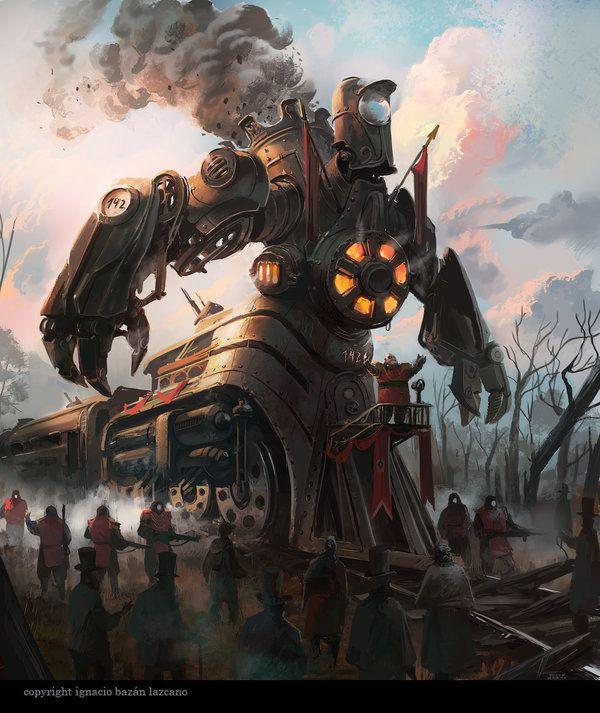 Railway Engine Centaur By Neisbeis.deviantart.com On