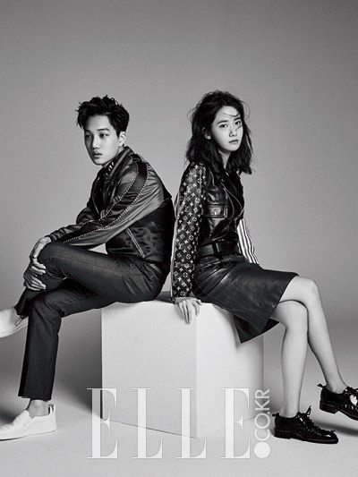 'Elle' drops even more pictures of the gorgeous YoonA and Kai! | allkpop.com