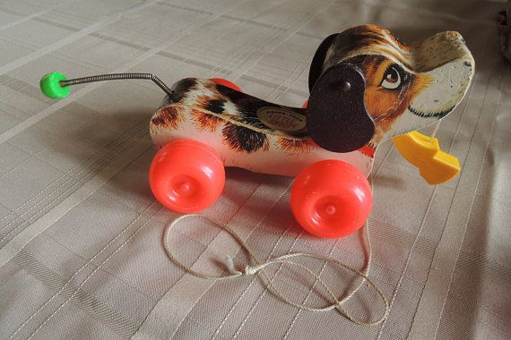 Little Snoopy Pull Toy Beagle Type Dog Pull Toy No 693 Pull Toy