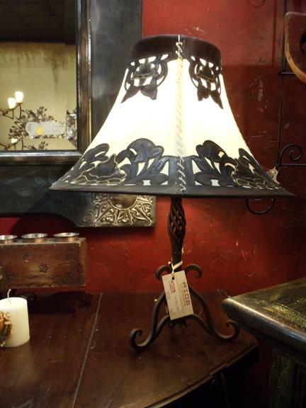 A Beautiful South Of The Border Style Table Lamp