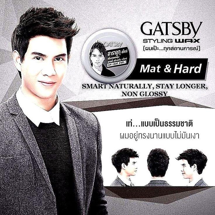 75 g x 4 Gatsby Hair Styling Wax Mat Japan Harajuku Hard Style Hair Wax For Men  #Gatsby