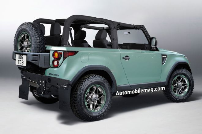 Photo Gallery 671459 - Deep Dive: All-New 2019 Land Rover Defender: An Icon, Reinvented - Automobile