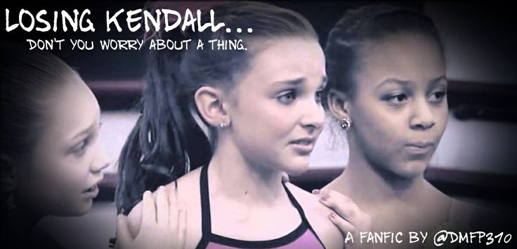 """Chapter 2: Kendall's POV  Abby walked into the room and she explained to me what my solo was about. As me and Gia starting the choreography, I started to feel a little dizzy. I didn't worry about it because to really wanted to worked on my solo. """"Great job! Let's go from the top!"""" Gia suggested. I started from the corner. """"Play music!"""" I got through the beginning of my solo, then the dizziness came back. As I was in the middle of a turn section, I blacked out. Cont, below."""