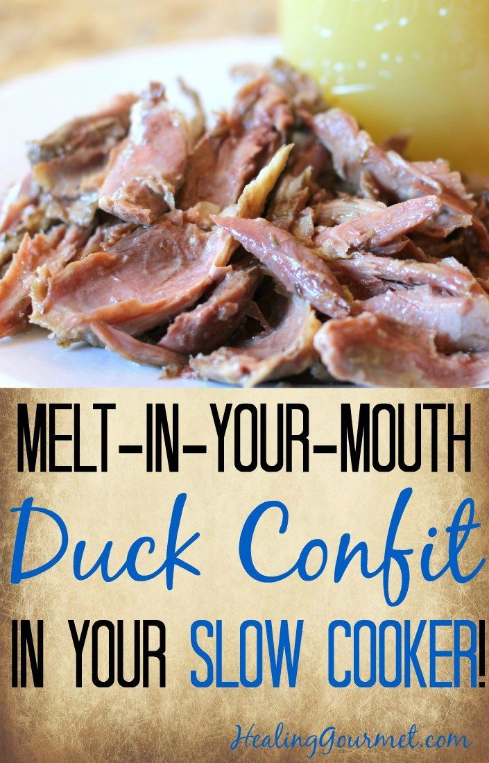Looking for a super-simple duck confit recipe? You've come to the right place. If you're familiar with duck confit (pronounced con-FEET), you already know that it practically melts in your mouth, is loaded with flavor, and can elevate even the most urbane dishes to gourmet status.
