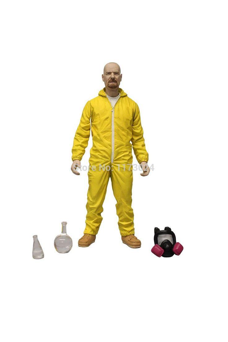 Горячая Mezco Toyz горячие куа TV игра сообщаем уолтер уайт брайан крэнстон вещества Collectiible 6  рисунок желтый костюм
