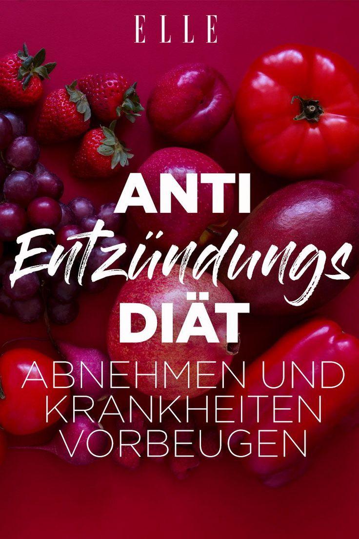 Anti-Entzündungs-Diät: Abnehmen und Krankheiten vorbeugen