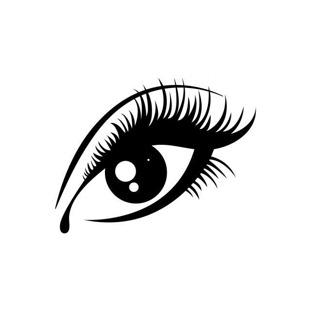 Eyelashes Icon Design Template Vector Icon Design Graphic Eyes