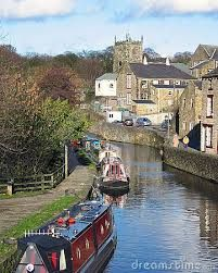 Image result for british canal boats