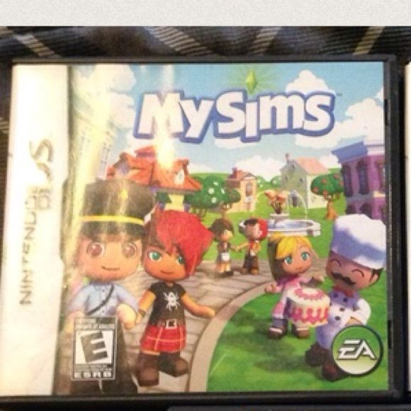 My Sims ds game Good condition my sims ds game Other