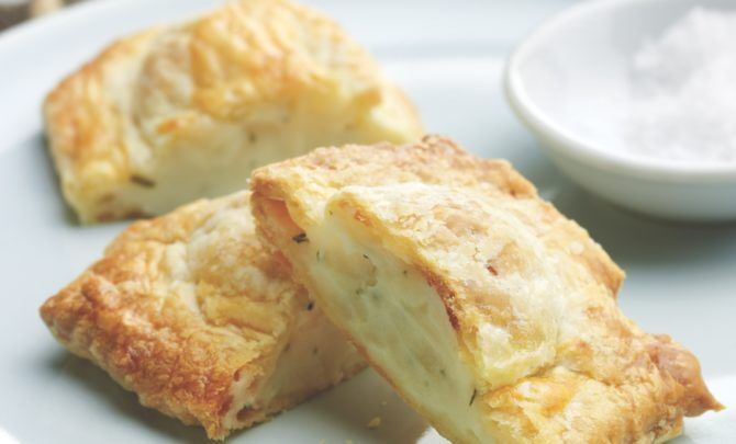 A traditional potato and cheese knish recipe from Todd and Ellen Gray's New Jewish Table cookbook.