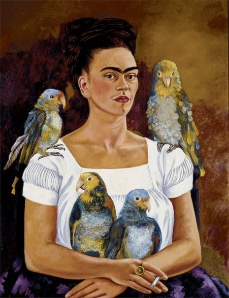 """Pinner said- Frida —""""I suffered two grave accidents in my life…One in which a streetcar knocked me down and the other was Diego."""""""