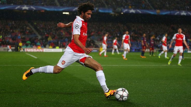 Arsenal's Mohamed Elneny in Egypt squad for African Nations Cup