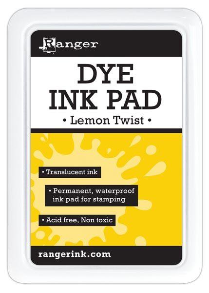 Ranger - Dye Ink Pad - Lemon Twist::Ink pads::Inks::Drawing & Illustration::ArtistSupplySource.com