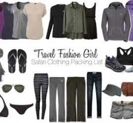 Mix and Match Outfits for Travel Using the 8 Piece Essentials Packing List - Travel Fashion Girl