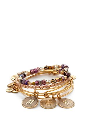 ALEX AND ANI Mom Set of 5 Charm Bracelets. She would like this one too...