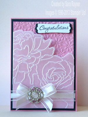 manhattan wedding card - love the layout and colour used.