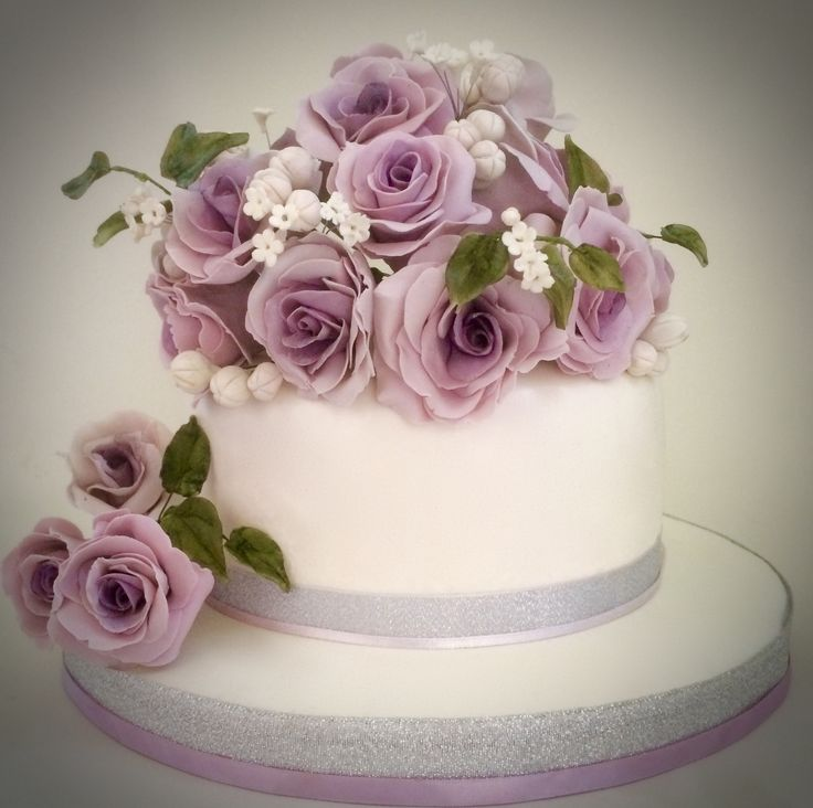 Purple Roses-Cakes by Ayomi