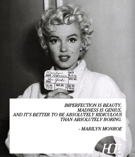 Quote of the Day: Marilyn Monroe
