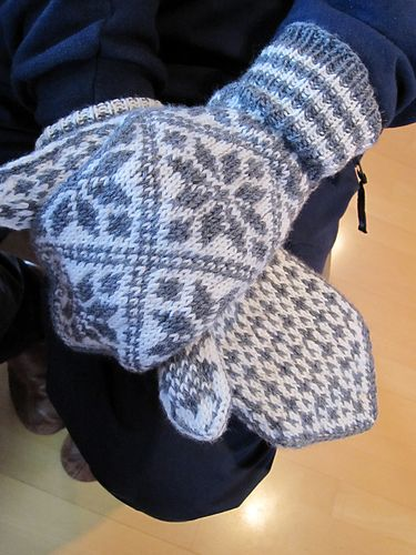 Ravelry: Orions vott pattern by Lillill Thuve