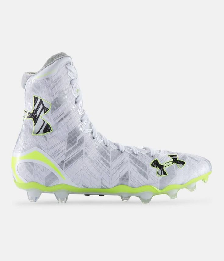 Under Armour Highlight MC Lacrosse High Top Cleats Men's Shoes MSRP $130 NEW #UnderArmour